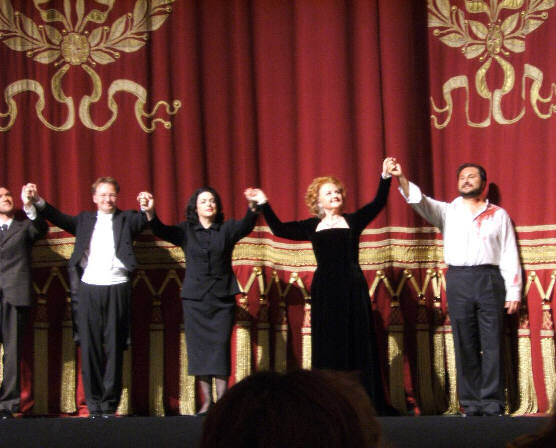 Roberto Devereux curtain call