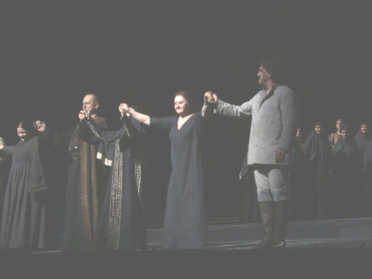 Norma curtain call 2
