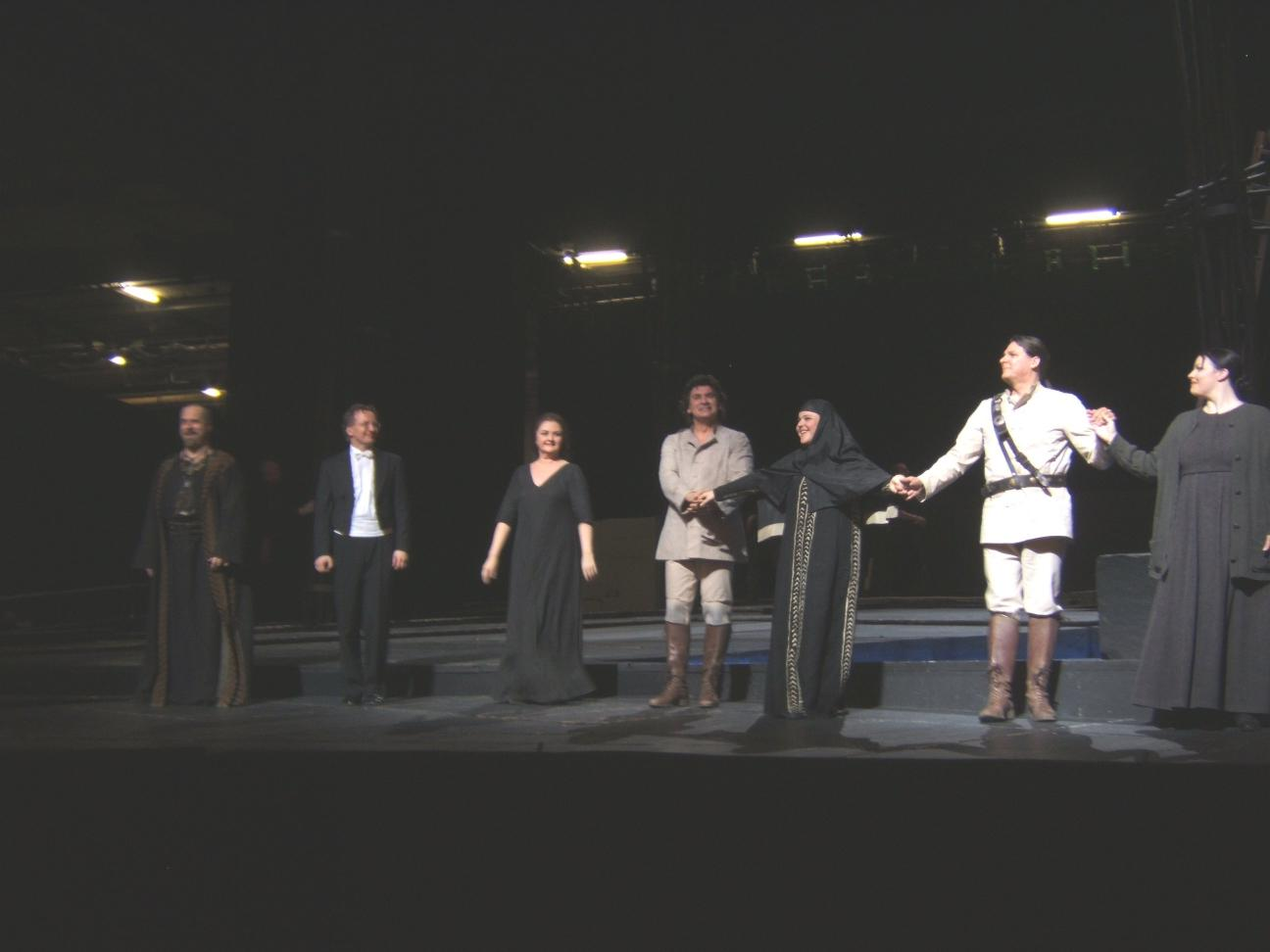 Norma curtain call 4